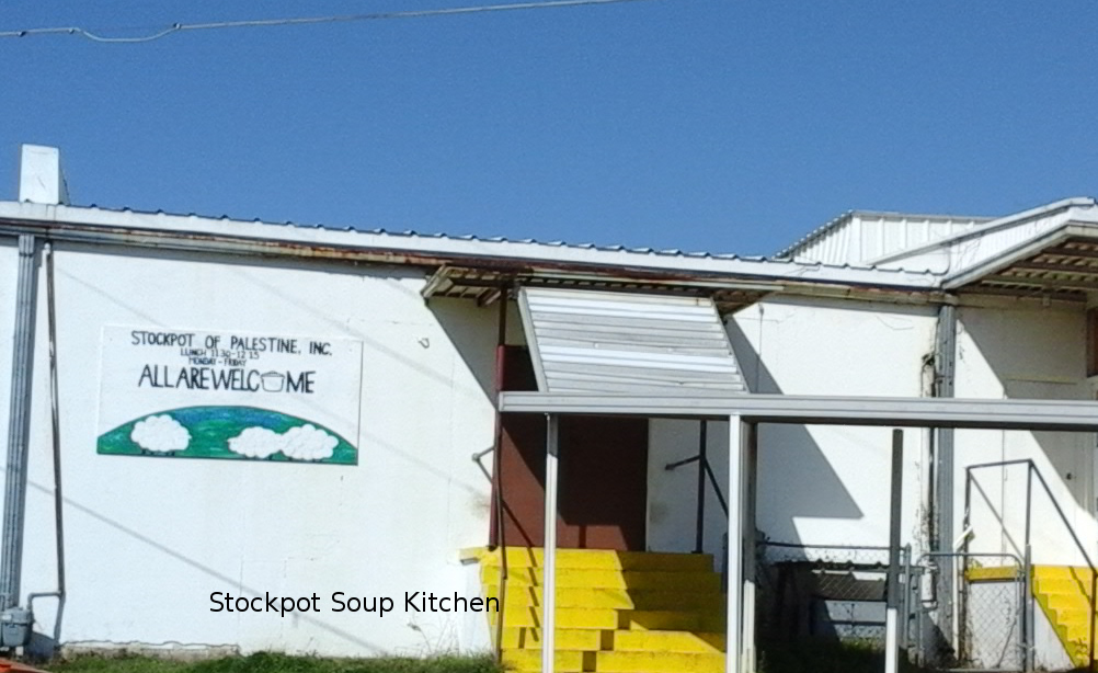 The Stockpot -- a soup kitchen providing hot lunches to the needy